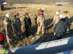Structure Collapse Rescue Training