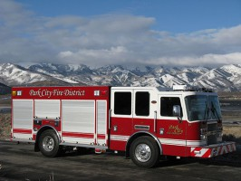 Custom-built KME Predator rear mount pumper
