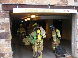 Underground Parking Training Exercise