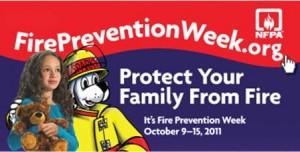 Oct 9 - 15, 2011: Fire Prevention Week