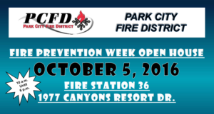 Fire Prevention Week Open House